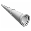 Fogtäta och oarmerade betongrör, bra självrensningsförmåga
