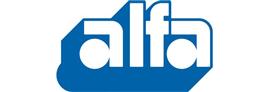 Alfa rör logotyp