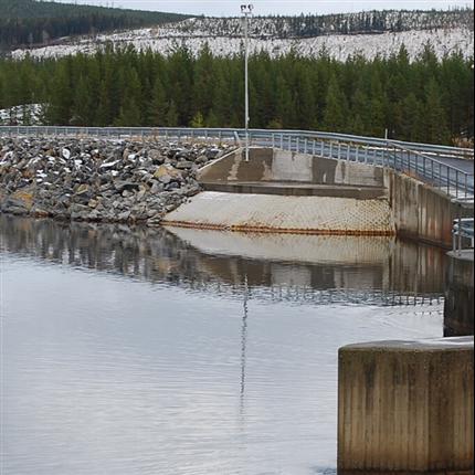 Tecomatic Betongmadrass - Erosionsskydd för kraftstationer