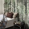 Huntonit Designvägg, dekor Forest