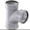 Uponor HTP inomhusavloppssystem, Soil&Waste Grenrör 3 muff svängd