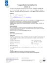 Typgodkännandebevis SC0091-16