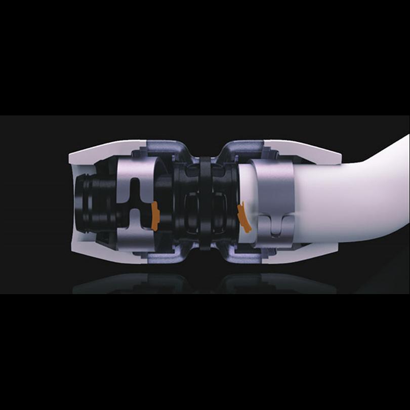 Uponor MLC kompositrör med RTM-koppling
