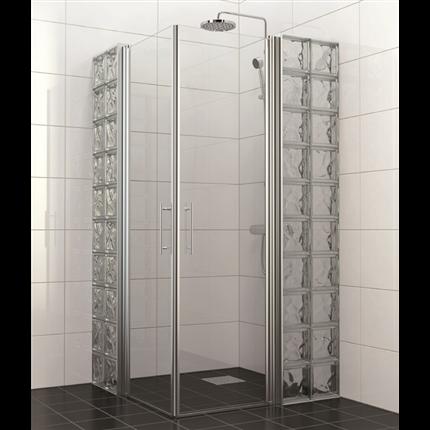 Glasfix Tellus duschdörrsystem