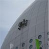 Specialplattform för tvättning av Globen, Stockholm
