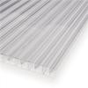 Multiglas kanaltak, 16 mm, klar