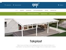 Esslon takplast på webbplats