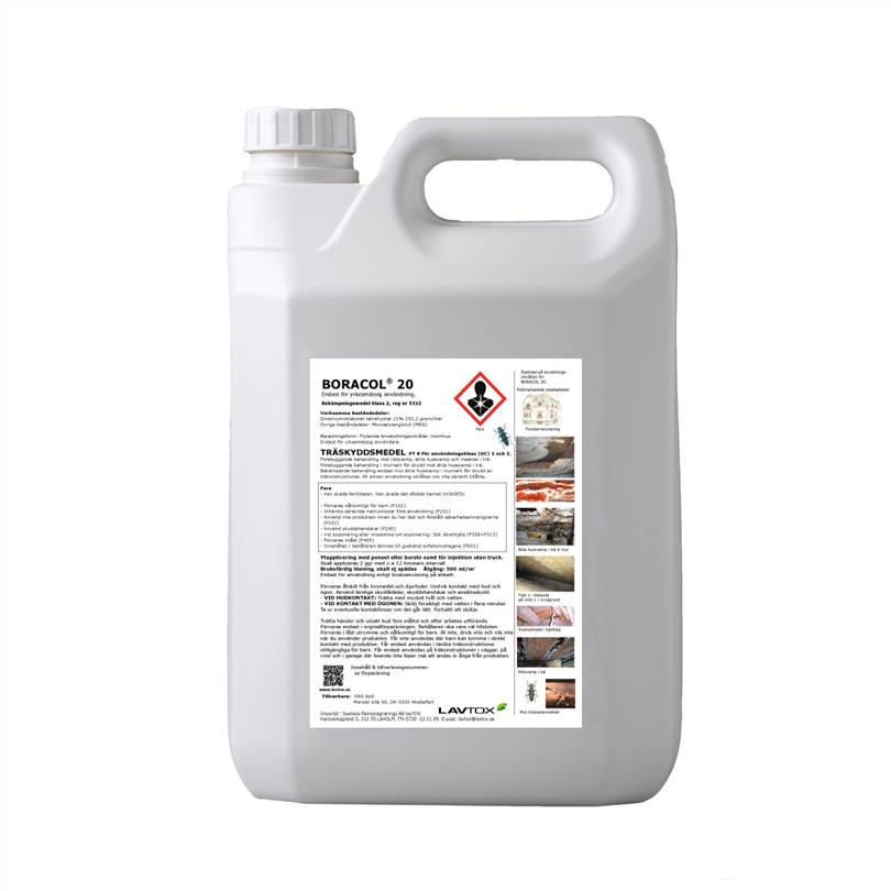 Boracol® 20, 5 liter