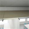 Parafon Decibel Mass akustikskiva installerad i tak