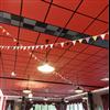 Parafon Palett akustikskivor i undertaksystem, röda
