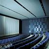 Parafon Reflex ljudreflekterande undertaksskiva i aula/hörsal