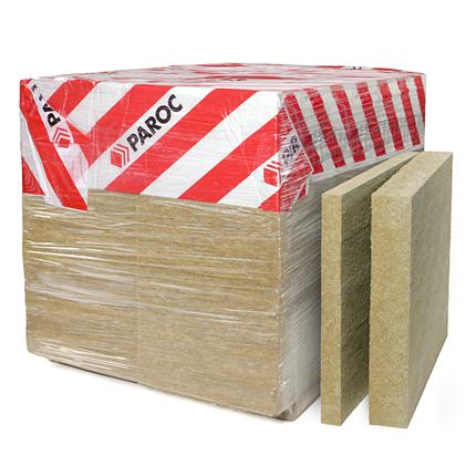 Paroc ROB, ROS, ROV isolering för låglutande tak