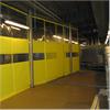Bullerdämpande skjutbara väggar, akustikväggar