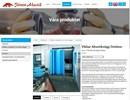 Järven Vikbara akustikväggar utomhus på webbplats