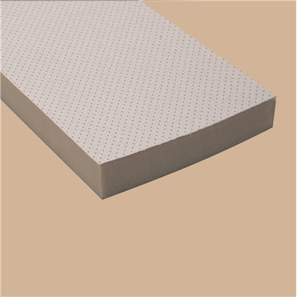 Formbar polyeterabsorbent, ljudabsorberande
