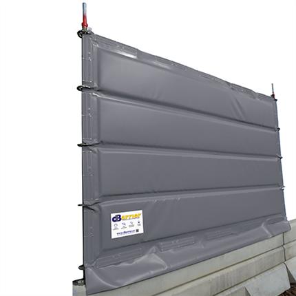 dBarrier bullerskydd till vägbarriärer
