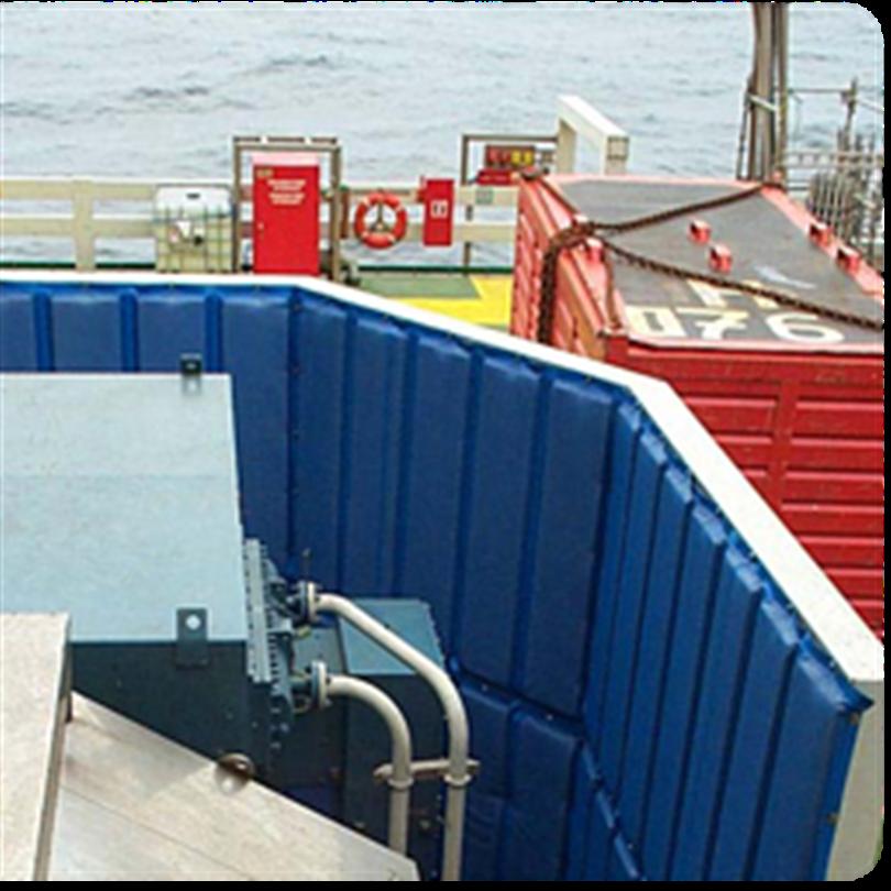 Järven Fasta akustikväggar utomhus, offshore