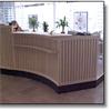 Receptionsdisk, Länsförsäkringar Visby