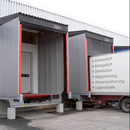 Vädertätning 2003 - integrerad i lasthus