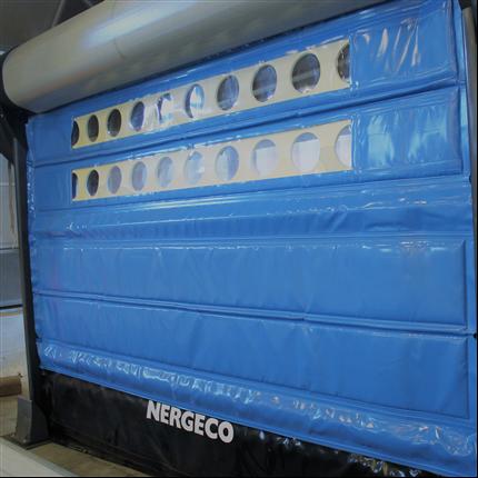 Star 5 Frigo 3 - dukvikport för kyl- och frysrum