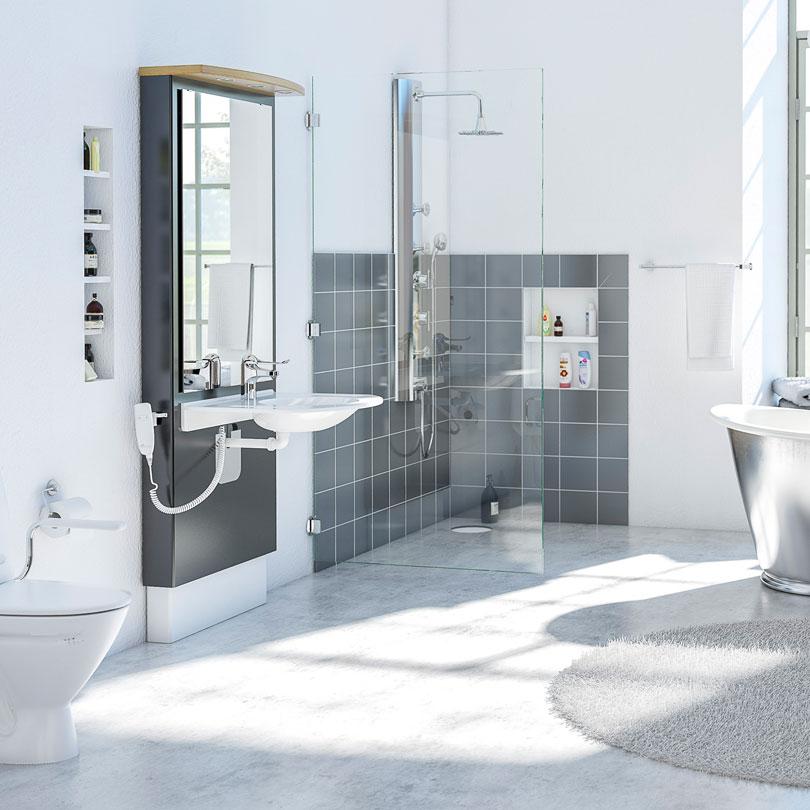 Granberg Sänkbart tvättställ modul DESIGNLINE 417