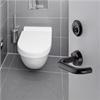 HOPPE Tôkyô WC-beslag för offentlig miljö
