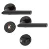 HOPPE WC-behör i svart brons - F5