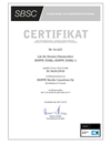 Certifikat SBSC SE