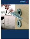 HOPPE dörrhandtag rekommenderas i Byggvarubedömningen