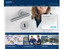 Dörr-, fönster- och inredningsbeslag på webbplatsen