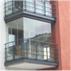Bentech Freedom VH balkonginglasning från golv till tak