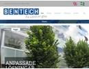 Bentech skärmväggar på webbplats