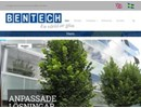 Bentech 50 glasväggar på webbplats