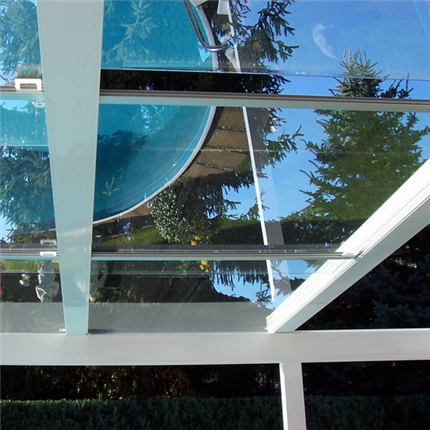 Bentech oisolerat öppningsbart glastak