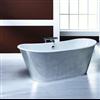 Badex Iris fristående badkar, aluminiumsidor