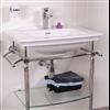 Badex tvättställ, Blenheim med kromställning