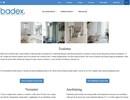 Badex toaletter på webbplats