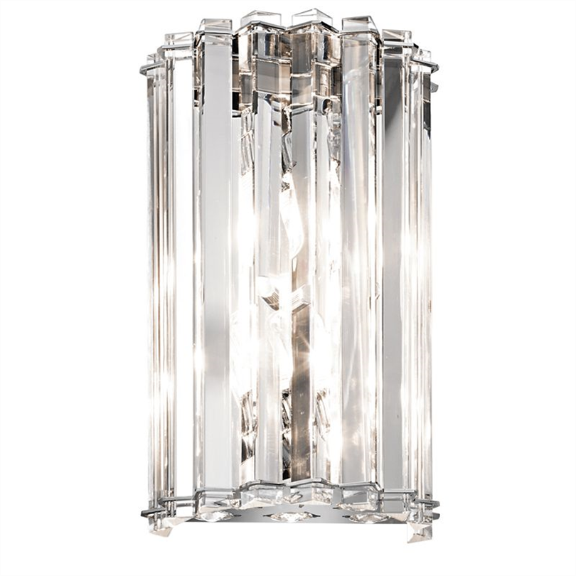 Badex Clifton badrumslampa av kristall