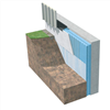 PM XPS FOAM 300 SL cellplast som källarväggsisolering