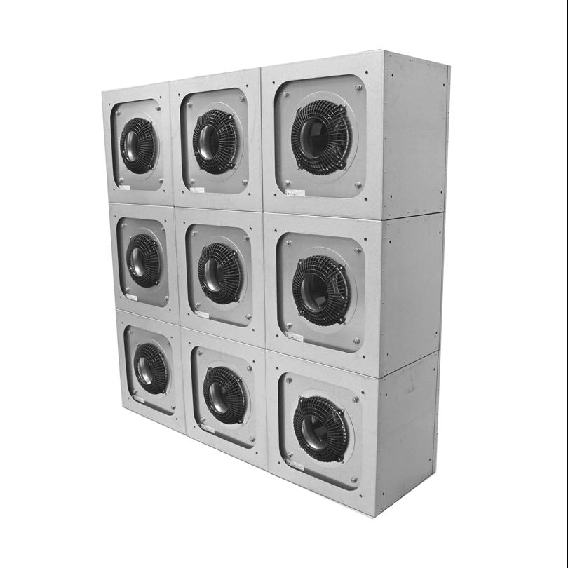 EbmPapst MXFG stapelbar kubfläkt EC