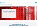 Gunnebo Rotationsgrindar på webbplats
