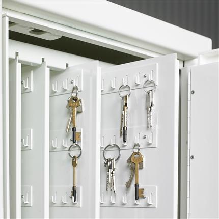 Låsbart nyckelskåp, säkerhetsskåp för nycklar