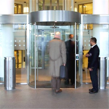 Rotationsgrind för inomhusanvändning i kontorsbyggnader