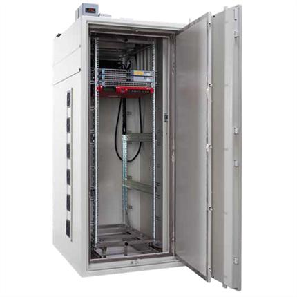Gunnebo Secure-IT Level 3 EMP serverskåp med RÖS-skydd