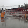 Automatic Systems BLG77 trafikbom med fast staket