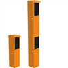Manöverpelare BOR2351 (enkel) och BOR2352 (dubbel)