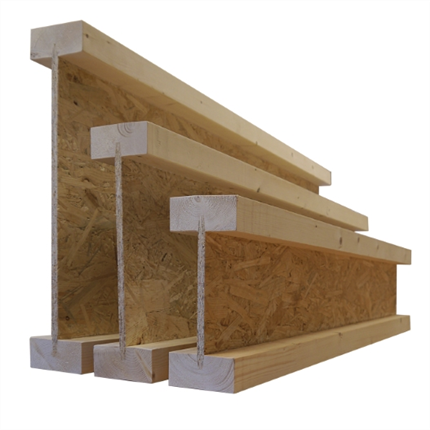 Masonite Beams I-balk typ HI
