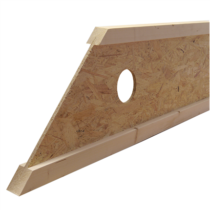 Masonite Beams I-regel, funktionsanpassad