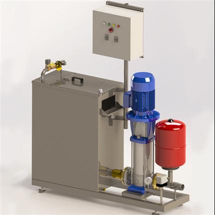 Norvatek Airgap pumpanläggning AGP 200