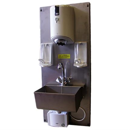 Norvatek hygienvägg typ HV2008